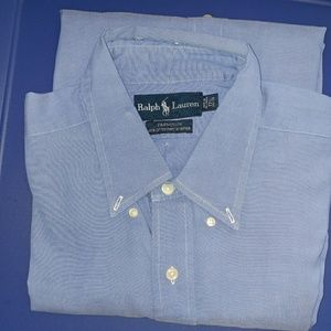 Blue Polo Ralph Lauren Mens dress shirt